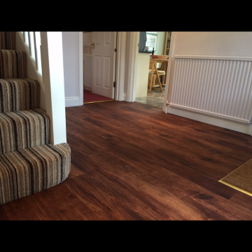 Engineered Wood supplied and installed by Bucklands Carpet & Rug Studio Ltd